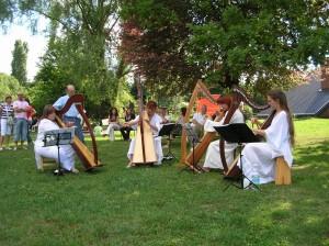 Le fate nel bosco e gli alberi musicali