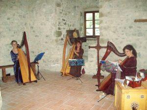 Agosto 2009 - Musica d'arpa a Medievalis - Pontremoli (MS)