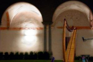 chiostro dell'abbazia di Maguzzano (BS)
