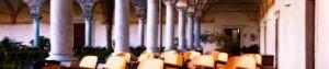 il chiostro dell'abbazia di Maguzzano (BS)