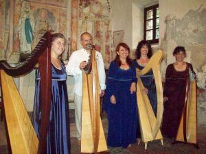Barbara, Giovanni, Patrizia Boromeo, Bruna e Patrizia