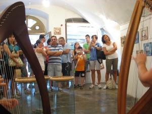 musica d'arpa da Angelo Balduzzi