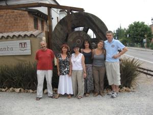 Giovanni, Patrizia Borromeo, Patrizia, Bruna, Barbara e Cornelio (Compagnia delle Torri)