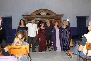 Bruna, Giovanni, Patrizia, Lidia Gualdoni, Patrizia Borromeo e Barbara