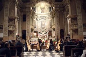 Patrizia Borromeo e Il Cerchio delle Fate a Berbenno (BG) - chiesa di Sant'Antonio Abate