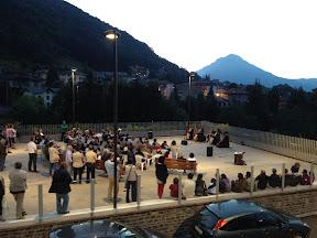 Costa Valle Imagna - Piazza del comune - 7 luglio 2012