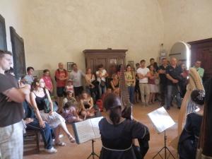 ... le visite animate al castello di Rossena