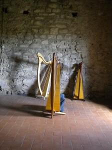 le nostre arpe al Castello del Piagnaro - Pontremoli (MS)