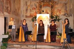 Giovanni, Barbara, Patrizia Borromeo, Patrizia e Bruna