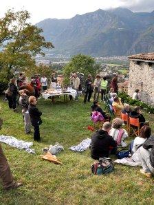 Castellino di Artogne :  la musica parla nei luoghi del tempo