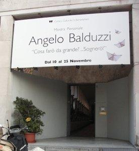l'ingresso al centro culturale San Bartolomeo, Bergamo