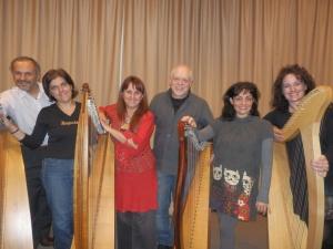 Giovanni, Barbara, Patrizia Borromeo, Angelo Balduzzi, Patrizia e Bruna