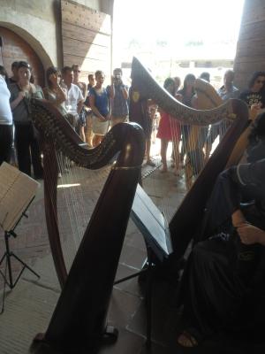 Patrizia Borromeo e Il Cerchio delle Fate al Castello di Malpaga (BG) 11 agosto 2013