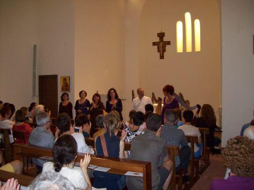 Patrizia Borromeo e Il Cerchio delle Fate  Monastero di Incirano (MI)- 17 luglio 2013