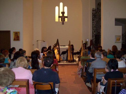 Patrizia Borromeo e Il Cerchio delle Fate al monastero francescano di Incirano (MI) 17 luglio 2013