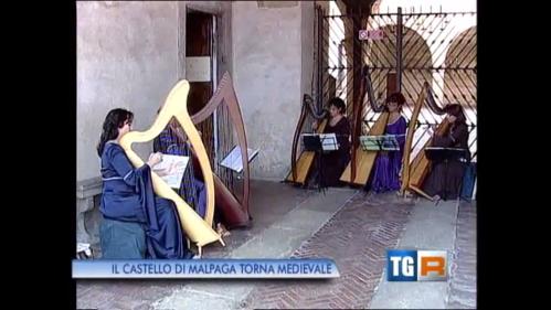 Patrizia Borromeo e Il Cerchio delle Fate - dal tg3 regionale dell'11 agosto 2013 - edizione delle 19.30
