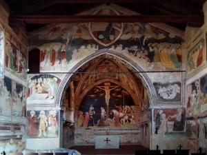 Lentate sul Seveso : Oratorio di Santo Stefano (XIV secolo)