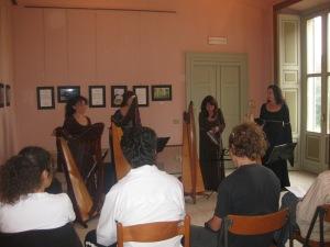 Patrizia Borromeo e Il Cerchio delle Fate (MB)  29 settembre  2013  Villa Scaccabarozzi