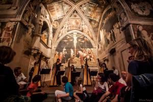 Patrizia Borromeo e Il Cerchio delle Fate presso l'Oratorio di Santo Stefano  a Lentate sul Seveso (MB) 20 giugno 2014