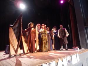 Patrizia Borromeo e Il Cerchio delle Fate Ensemble di arpe celtiche e voci
