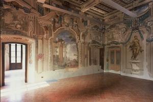 Villa Baldironi Reati, Lissone (MB) Edificio del XV secolo; grandi affreschi databili fra la fine del XVII e gli inizi del XVIII secolo