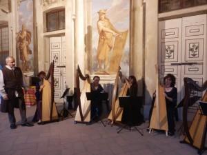 Ensemble di arpe celtiche a Palazzo Borromeo  Cesano Maderno