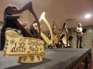 Ensemble di arpe celtiche alla Fiera dell'Hi Fi - Milano 11 ottobre 2015