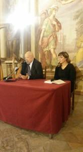 Franco Cardini e Eva Musci