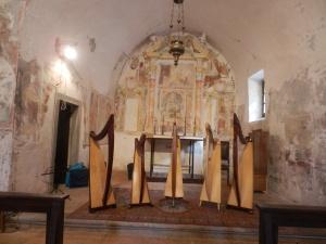Ensemble di arpe celtiche Patrizia Borromeo e Il cerchio delle Fate in Valle Imagna (BG)