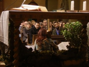 Ensemble di arpe celtiche a Rota d'Imagna (BG)