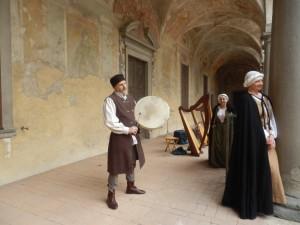 Arpa Celtica al Castello di Cavernago (BG) 2 aprile 2016