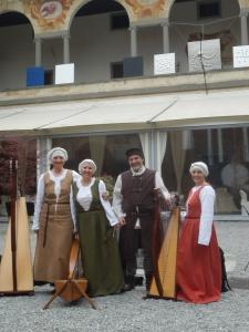 Patrizia Borromeo e Il Cerchio delle Fate a Cavernago (BG) 2 aprile 2016