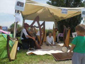 Ensemble di arpe celtiche e voci - Patrizia Borromeo e ilcerchio delle fate a Varedo (MB) 12 Giugno 2016