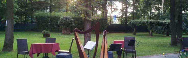 Le arpe celtiche del Cerchio delle Fate al Roccolo di Lazzate (MB)