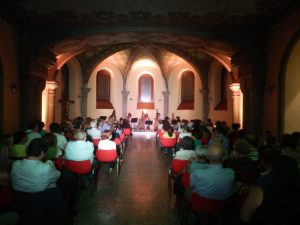 Patrizia Borromeo e Il Cerchio delle Fate - cripta di San Pietro in Sala - Milano