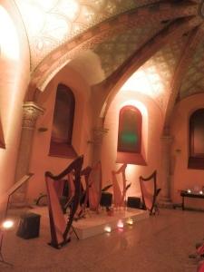 ensemble di arpe celtiche Il Cerchio delle Fate a Milano