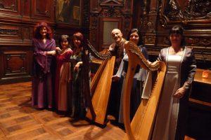 Patrizia Borromeo e Il Cerchio delle Fate - ensemble di arpe celtiche e voci a Milano - 3 dicembre 2016