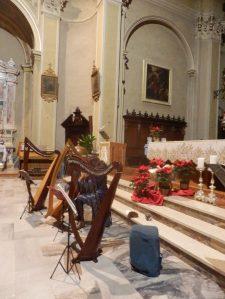 Ensemble di arpe celtiche Patrizia Borromeo e Il Cerchio delle Fate - Carona (BG) 28 Dicembre 2016
