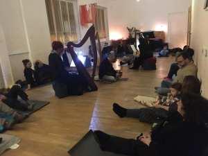 Ensemble di arpe celtiche e voci Patrizia Borromeo e Il Cerchio delle Fate