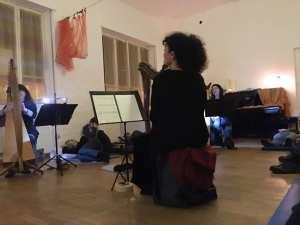 Patrizia Borromeo e Il Cerchio delle Fate - ensemble di arpe celtiche e voci