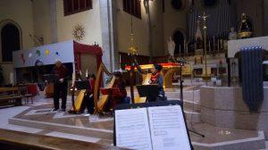 Ensemble di arpe celtiche e voci a Varedo 13 dicembre 2019